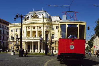 Bratislava Old Tram
