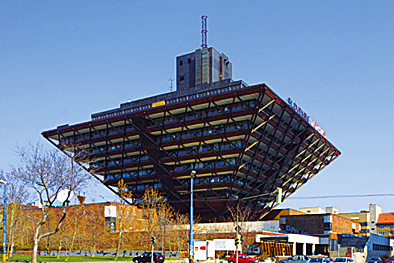 Slovak Radio building Bratislava