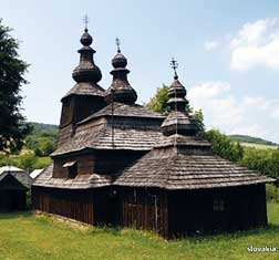Wooden Church Slovakia