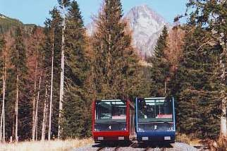 Hrebienok railways