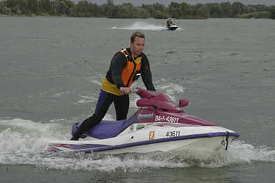 Speedboats at Cunovo with Enjoy Slovakia DMC