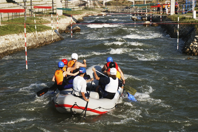 Rafting at Cunovo with Enjoy Slovakia DMC
