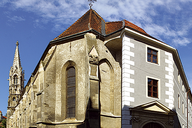 Bratislava Klarisky Church