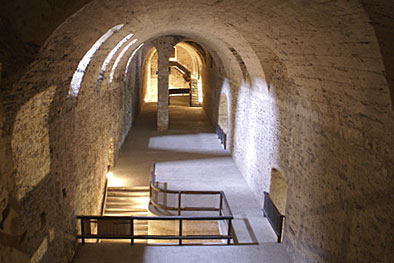 Red Stone Castle cellars