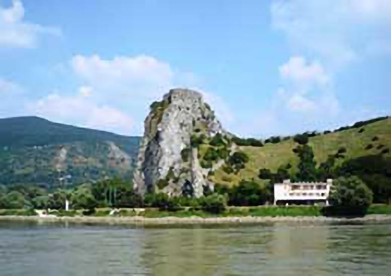 Devin Castle Bratislava from the river Slovakia DMC