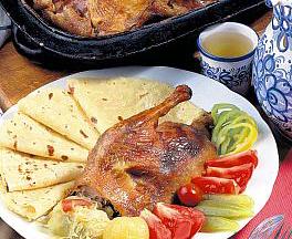 Goose Feast menu