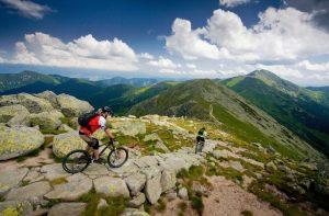 Low Tatras biking
